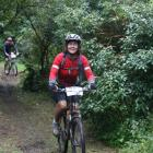 Competitors admire the scenery while riding through Dolamore Park in the last MLT Moonshine Trail...