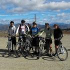 Competitors and views from January's Big Easy ride, which starts at the Snow Farm. Photo supplied.