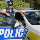 Constable Donald Hillis, of Queenstown. Total recorded crime in Queenstown Lakes, Central Otago...