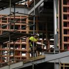 Construction workers will be needed to supply emergency housing in Christchurch. Photo by Linda...