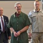 Convicted financier Allen Stanford arrives at Federal Court in Houston, Texas for sentencing....