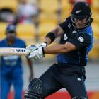 Corey Anderson returns to the Black Caps for the T/20 matches against Sri Lanka. Photo NZ Herald