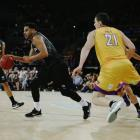 Corey Webster in action against the Sydney Kings. Photo: Getty Images