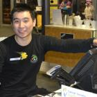 Coronet Peak Food and Beverage attendant Ethan Heng, of Malaysia. Photo supplied.