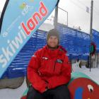 "Coronet Peak Skiwiland instructor ""Critter"" Nielson, originally from the United States. Photo..."