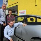 COSS Dunedin executive officer Alan Shanks (left), Dunedin ...