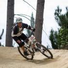 Craig McInstosh,  of Wellington,  on Saturday at the sSuper  D competition at the Queenstown Bike...