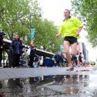 "CRT team member Kevin Duggan, of Dunedin, competing in the Sport Otago virtual triathlon ""Push..."