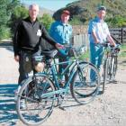 Cycle aid: New Zealand Cyclaid rally participants who met with others in Clyde at the weekend are...