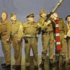 Dad's Army performers (from left) Keith Richardson (Private Walker), John McCallum (Private...