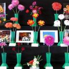Dahlias on display at last Saturday's East Otago A&P show hint at what the national dahlia show...