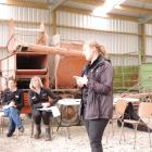 DairyNZ consulting officer Sarah Dirks, who is leading the national heifer grazing strategy,...
