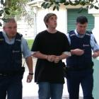Daniel Smith, who was yesterday convicted of murdering Oamaru teenager William Lewis, is pictured...