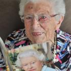 Daphne Galloway will treasure the card she received from the Queen to mark her 100th birthday on...