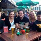 Darryl and Sian Filer (46), Jamie McLean (18), Tarnia (43) and Ryan Filer (16), of Christchurch.