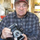 Dave Mitchell snapped up an old Otago Daily Times camera at auction in the late 1980s. Photo by...