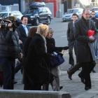 David Bain arrives at court this morning. Photo by Craig Baxter