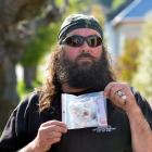 David Crosbie found a needle and drug paraphernalia outside his Dunedin home last week and waited...