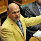 ACT Party leader Rodney Hide in his yellow jacket