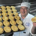 Dennis Kirkpatrick knows a thing or two about pies. Photo by Peter McIntosh.