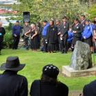 Descendants of Maori prisoners from Taranaki, who died while working in Dunedin in the 19th...