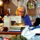 Desi Liversage in her North Dunedin workroom. Photos: Christime O'Connor
