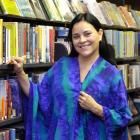 Diana Gabaldon, who was in town to talk about her new book An Echo in the Bone, in the Dunedin...