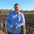 DLF Seeds southern sales manager Garth Cleland was a butcher before entering the seed retailing...