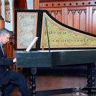 Douglas Mews at a harpsichord, an instrument he says tells you a lot about the composer and what...