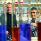 Dr Bostjan Humar and Assocaite Professor Parry Guilford