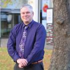 Dr Ian Griffin, the Otago Museum's newly appointed director, pictured outside the museum this...