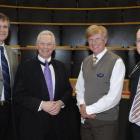 Dr John Adams, dean of the University of Otago's Dunedin School of Medicine (second from left),...