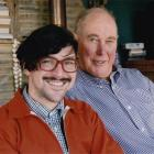 Dudley Benson (left) says Warwick Broadhhead (right) was a maverick performance artist. Photo...