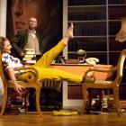 Dunedin's Hilary Halba as Sarah Churchill (Lady Audley) and Roy Snow as Randolph Churchill, the...
