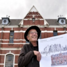 Dunedin architectural conservator Guy Williams in front of the historic prison with 120-year-old...