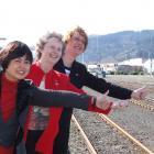 Dunedin BPW members (from left) secretary Marilou Scott, president Jean Park, and campaign co...