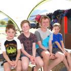 Dunedin brothers (from left) Tom, Campbell, Blake and Hunter MacDade, who all have Crohn's...