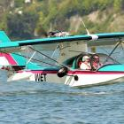 Dunedin builder Craig Buist loves flying his amphibious aircraft in and around the city, and will...