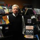 Dunedin City Council library services manager Bernie Hawke at the Dunedin central library, which...