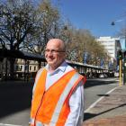 Dunedin City Council senior traffic engineer Ron Minnema, pictured in George St, is heading to...