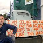 Dunedin developer Lawrie Forbes is calling for a rethinking of the Dunedin City Council's...