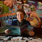 Dunedin film fan Maree Clarke plans her strategy for the remainder of the New Zealand...