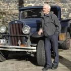 Dunedin fireman Jim Tall crossed an Essex with a Toyota to create his 1930s-style four-wheel...