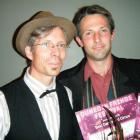 Dunedin Fringe Festival director Paul Smith (left).