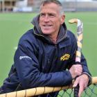 Dunedin hockey coach Dave Ross at the McMillan Centre. Photo by Linda Robertson.