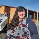 Dunedin Kindergarten Association general manager Christine Gale outside the Portobello...