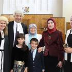 Dunedin lawyer Mouhannad Taha after being admitted to the Bar yesterday in the High Court at...