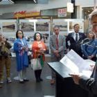 Dunedin Mayor Dave Cull at the opening of the Otaru and Dunedin Sister Cities Photographic...