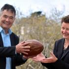 Dunedin Mayor Dave Cull may think otherwise but French ambassador to New Zealand Florence...