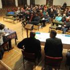 Dunedin mayoral candidates (from left) Lee Vandervis, Olivier Lequeux, Jimmy Knowles, Aaron...